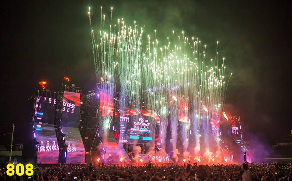 808 EDM Festival Yangon